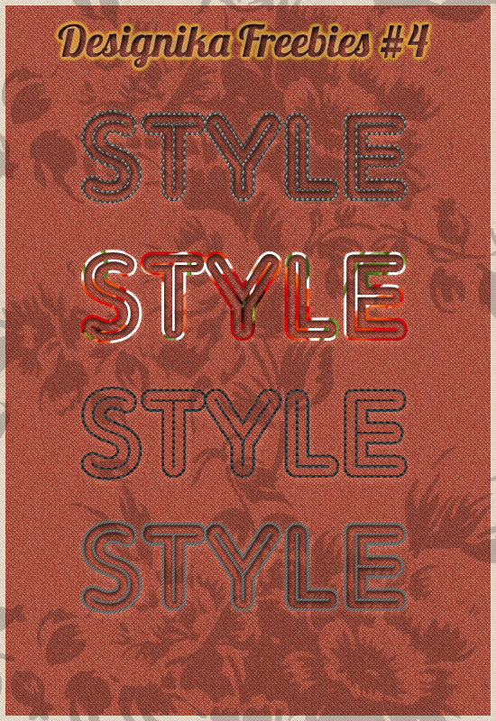 Ps Styles Embroidery Effect by rumpibul