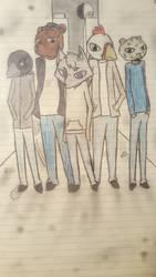 Alley way group by Ninako548