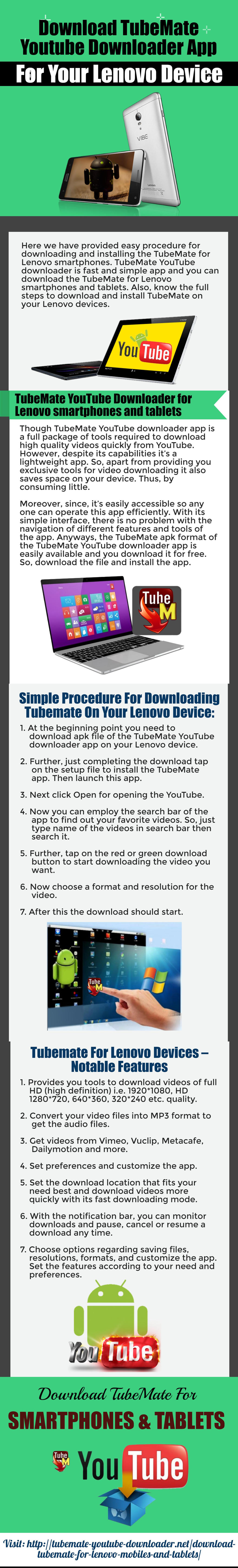 Download TubeMate YouTube downloader app for your by tomstout on
