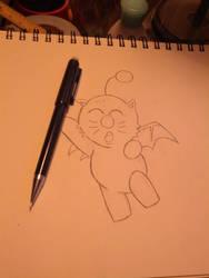 Moogle Sketch by Morestal