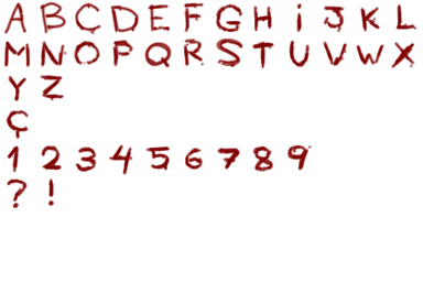 Blood Alphabet  READ DESCRIPTION by MultiMouths