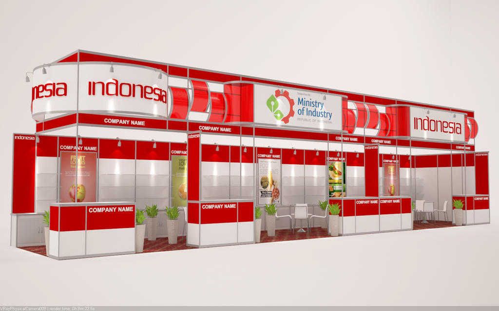 3d Exhibition : D exhibition modular booth system by hobigrafix on deviantart