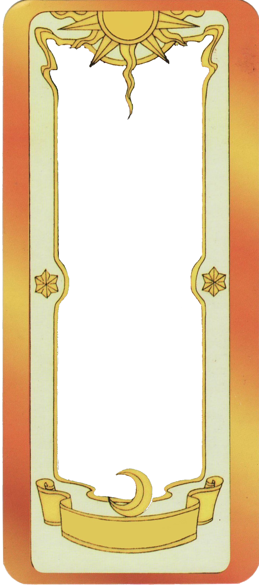 Clow Card Template by chocassajulie