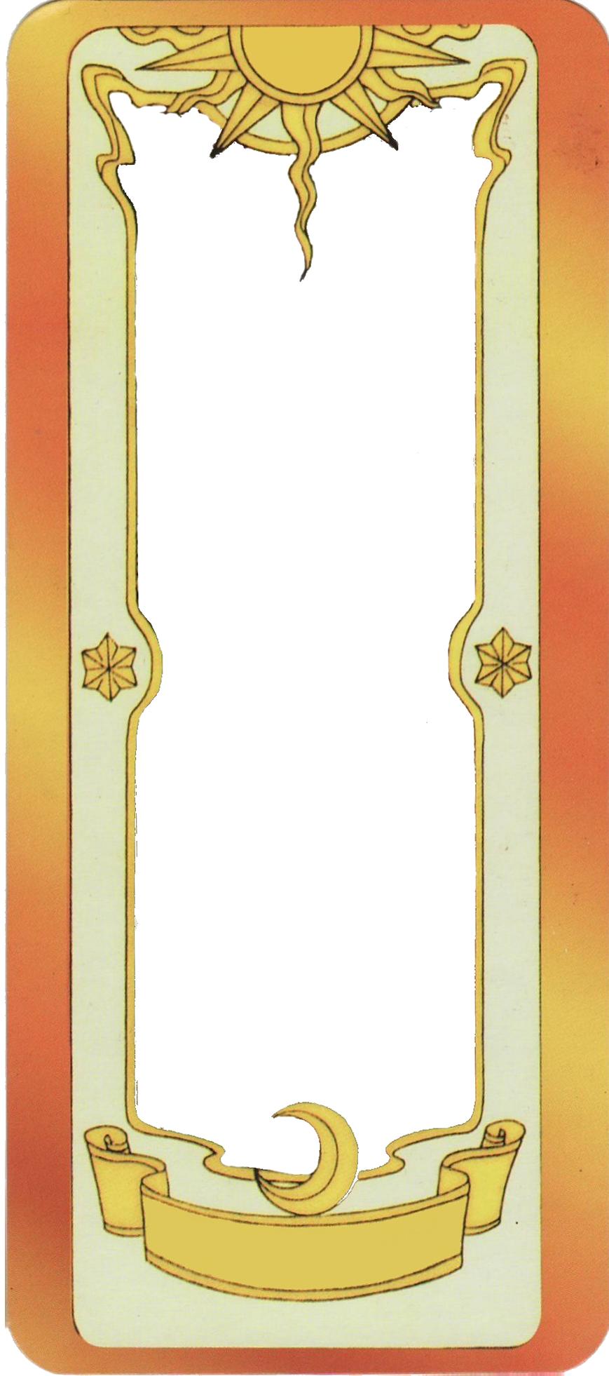 Clow Card Template by chocassajulie