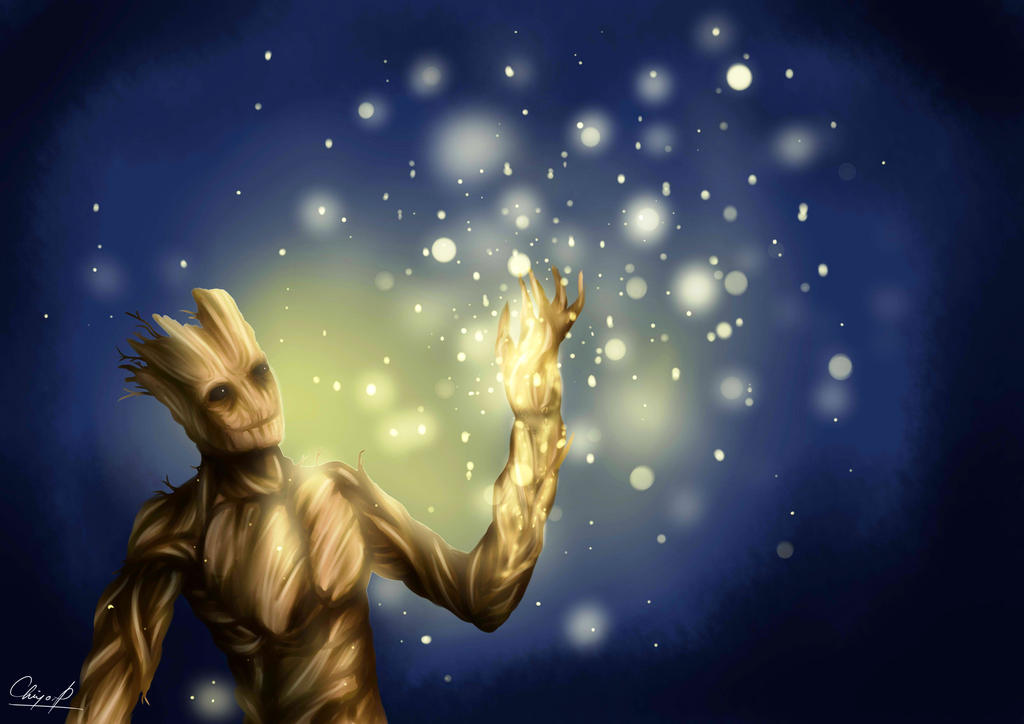 I am Groot by chocassajulie