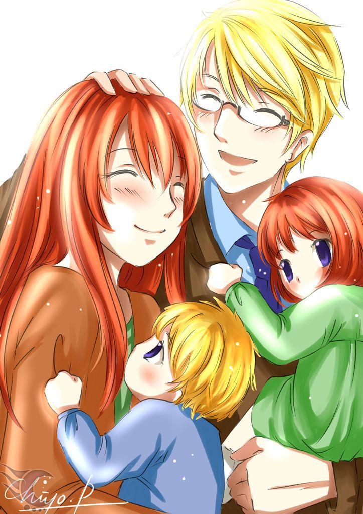 [OC] Albert's Family by chocassajulie