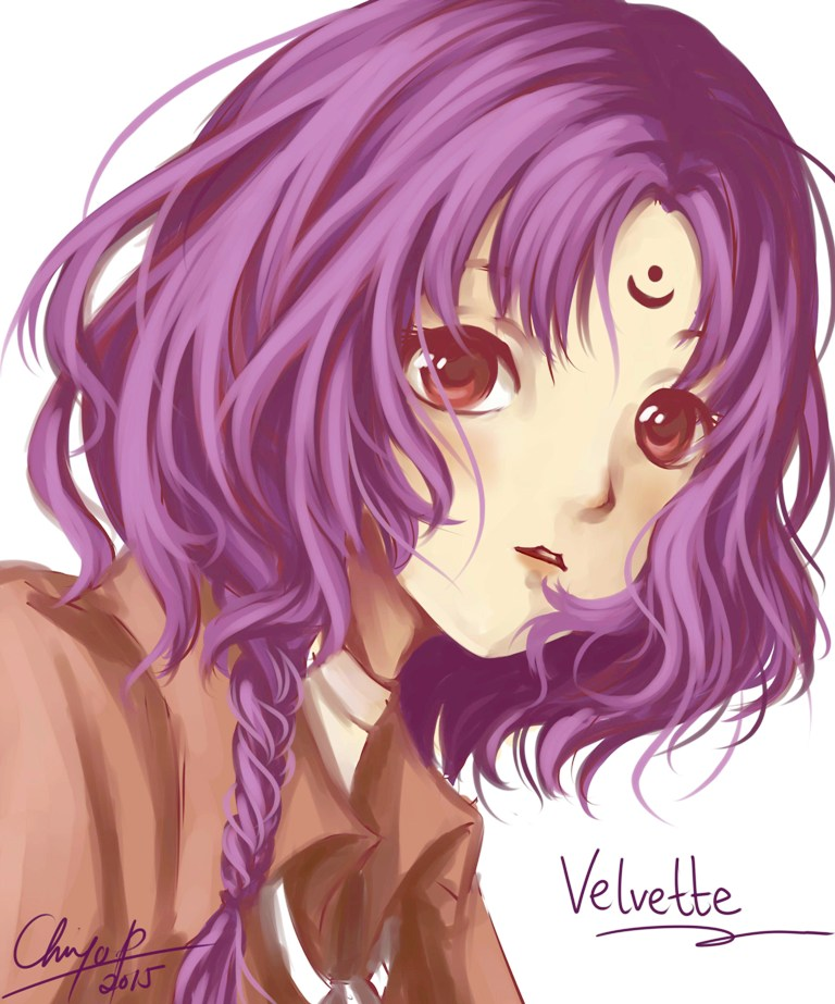 [OC] Velvette's new hair by chocassajulie