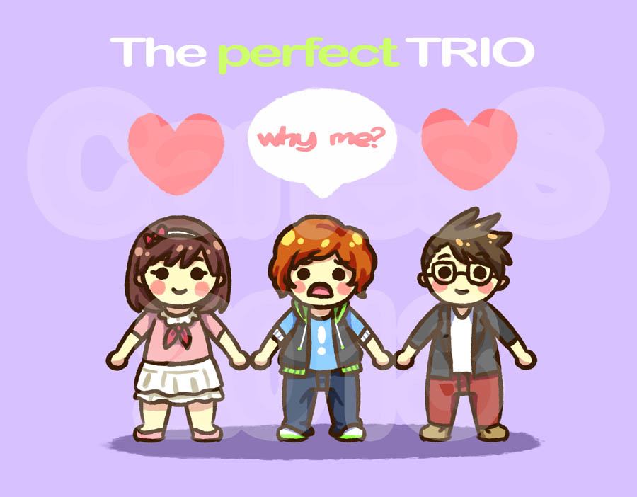 The perfect TRIO by Animetron