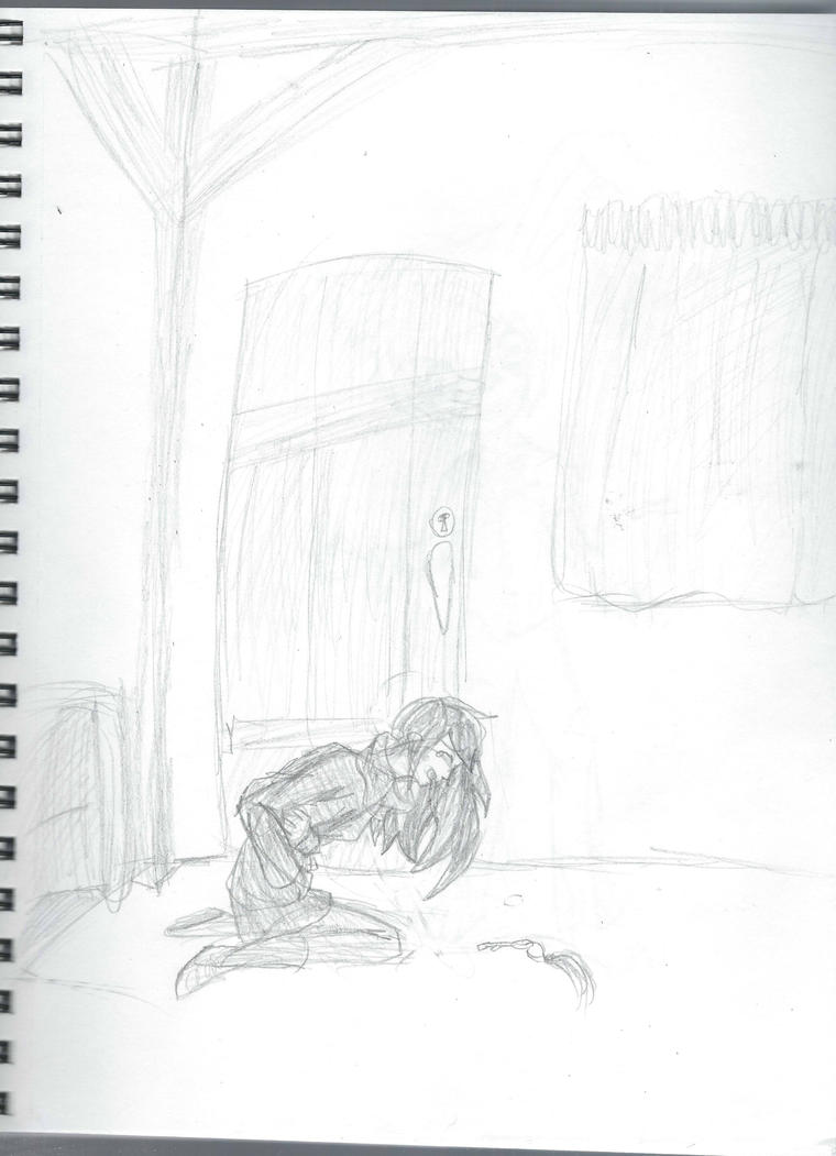 Failed attempt at escape (sketch) by vulpix15