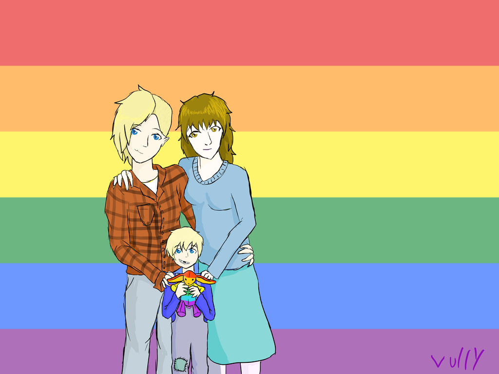 Charlie's family by vulpix15