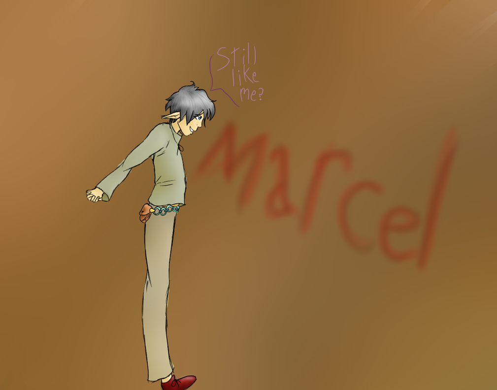 Marcel. by vulpix15