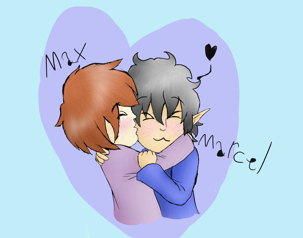 Max and Marcel by vulpix15