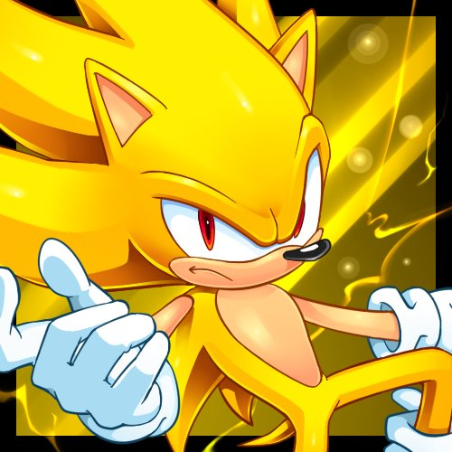 Super Sonic The Hedgehog Invincible By Cristianharold0000 On Deviantart