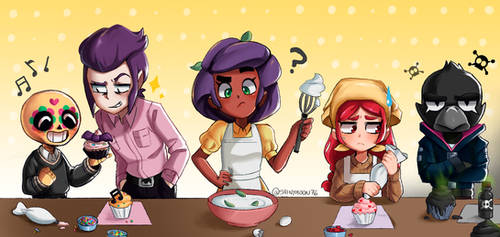 Making Cupcakes by ShinyMoonBlue