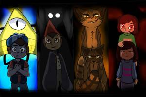 Everyone has a dark side - Crossover by QuietPool4