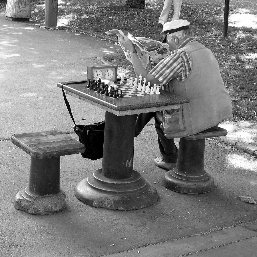Chess Players I by SaitoV