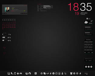 Rainmeter Desktop by ElefantArt