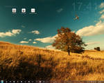 Summer Rainmeter Desktop