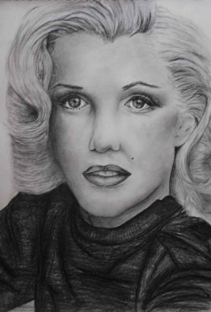 Marilyn Monroe. by lorahh