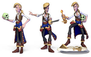 Guybrush Threepwood - Monkey Island series