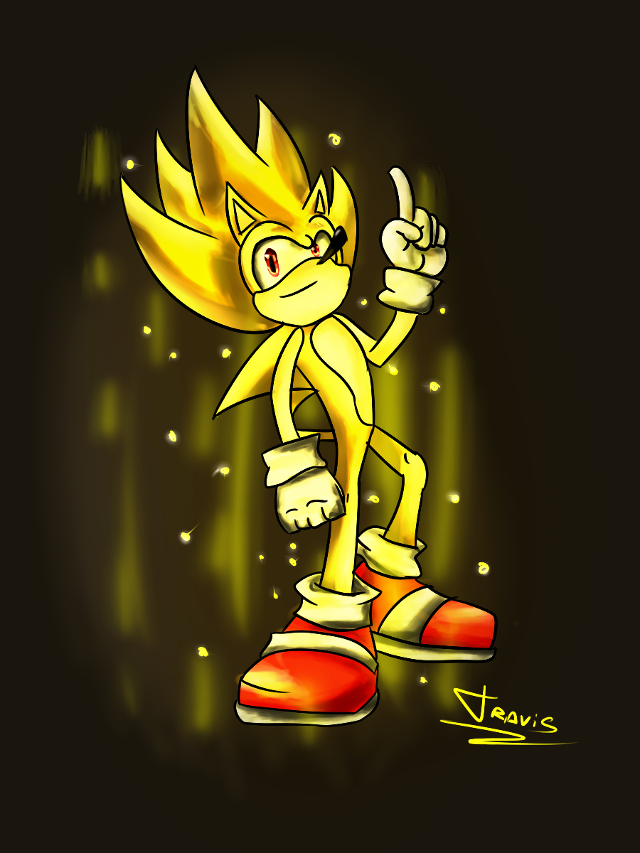 Super Sonic V.2 by ReshiDaVanci