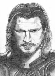 God of Thunder by Danielim