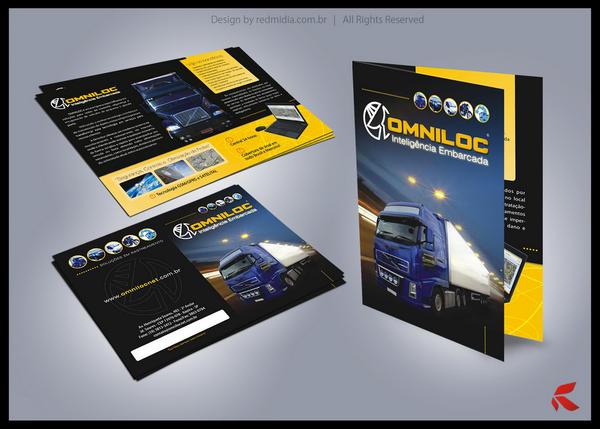 Corporate folder Design by lucaumredmidia