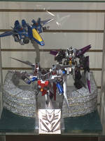 Transformers fusion Gundam Seekers by jaynovax