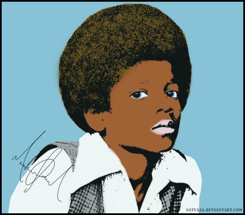 Young Michael Jackson Pop Art by satyaaa on DeviantArt