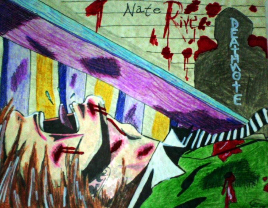 Death Note- Light got shot to death by Omvoy