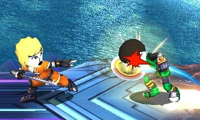 Naruto vs Lee SSB by Omvoy