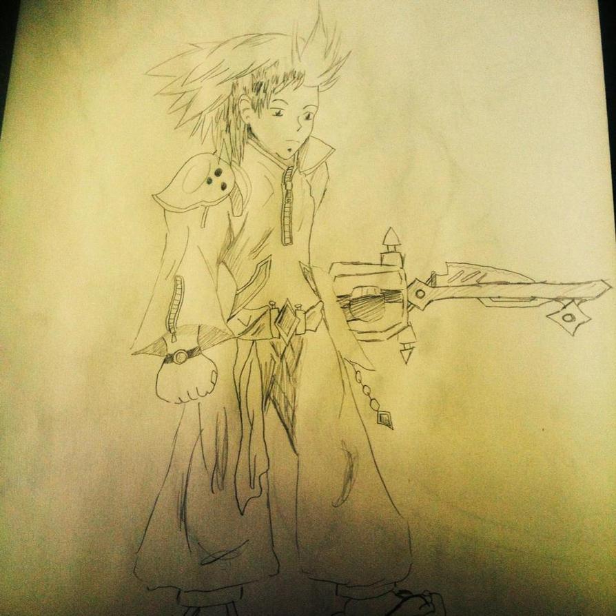 Ren the Keyblade warrior by Omvoy