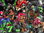 All the octolings!
