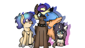 Willows family by Milkeal
