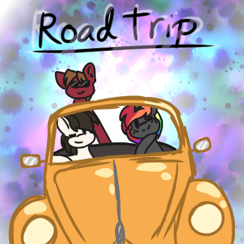 Road Trip! (Challenge entry) by DaShipNoodle