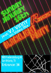 Blacklight Flyer by Pigland