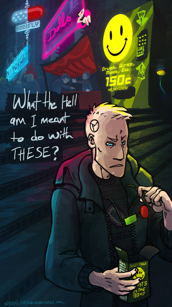 Drugs and Wires Fan Art