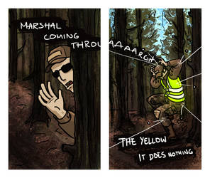 The yellow does nothing! by C130