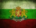 Grunge Bulgarian Flag