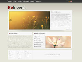 Web Site - ReInvent by TheDrake92