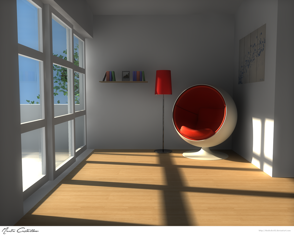 House Interior Design 2 by TheDrake92