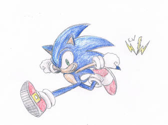 Sonic the Hedgehog by thesoniczone11