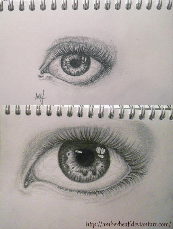 Eye Sketch 4 by Amberheaf