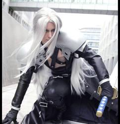 Sephiroth - Quicksilver Storm by NanjoKoji