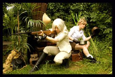 Riku Roxas - Jungle heroes by NanjoKoji