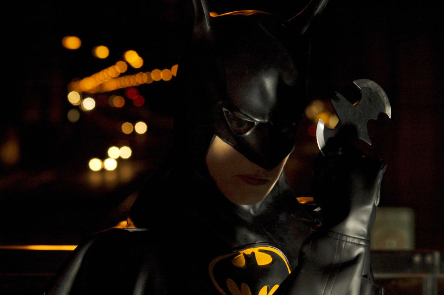Holy cosplay, it's BATMAN by NanjoKoji