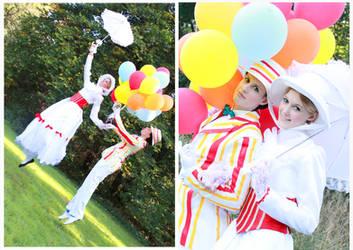 Mary Poppins - A Wonderful Day by NanjoKoji