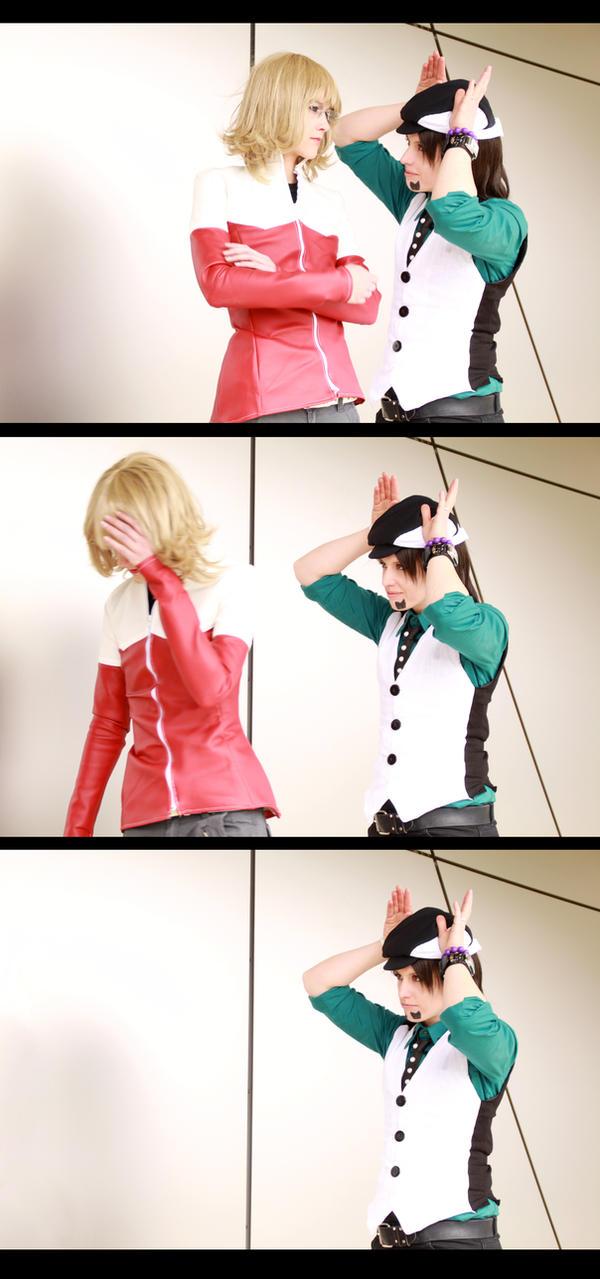 Tiger + Bunny - Kotetsu fails #1 by NanjoKoji