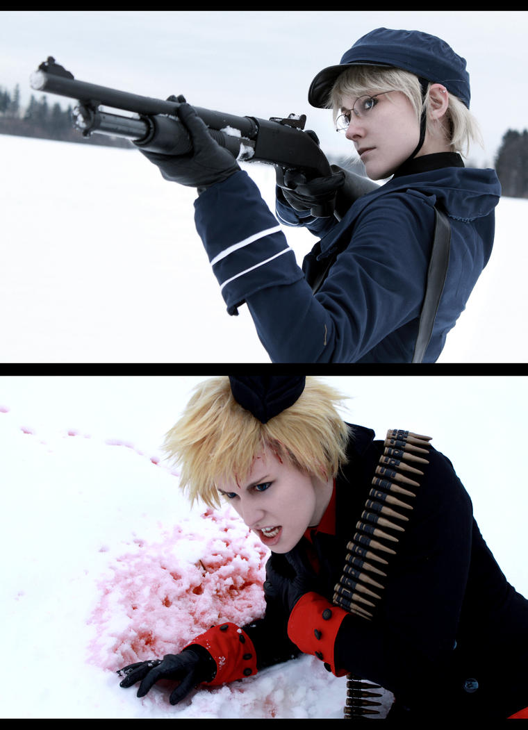 Hetalia - Nordics - Snow and Blood by NanjoKoji