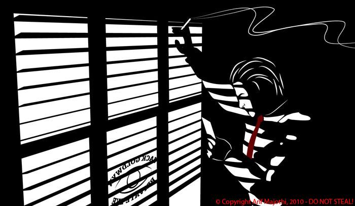 Jack Stood By Window by arif-rocks